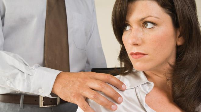 Sexuelle Belästigung am Arbeitsplatz