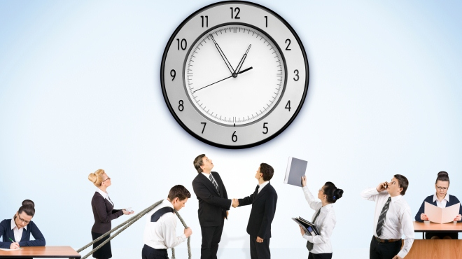 Wissenstest Arbeitszeit
