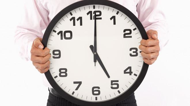 Réduction de l'horaire de travail