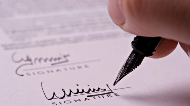 Aufhebungsvereinbarung