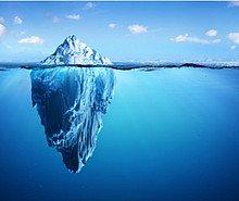 Modèle de l'iceberg
