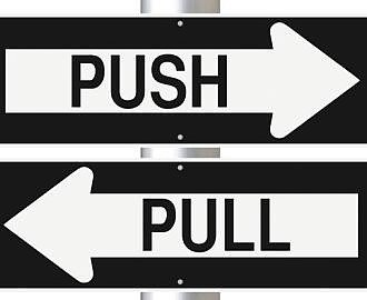 Pull-Push Strategie