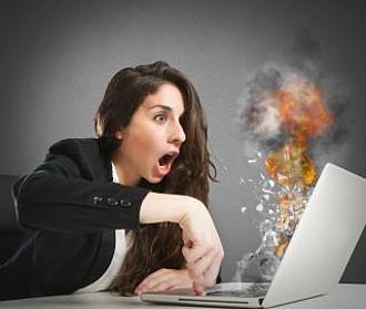 Computer überhitzt