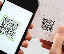 Einzahlungsschein mit QR-Code