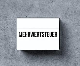 MWST-Option