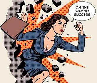 Weibliche Führungsstärken