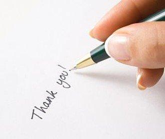 Dankesbrief: 3 Tipps für passende Dankesworte