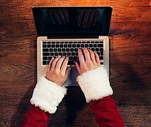 Geschäftliche Weihnachtsbriefe