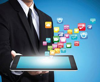 Smartphone, e-mails, Internet