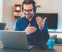 Entretien de recrutement en ligne